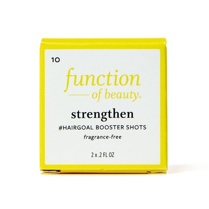 Strengthen #HairGoal Booster Shots with Pea Sprout Extract