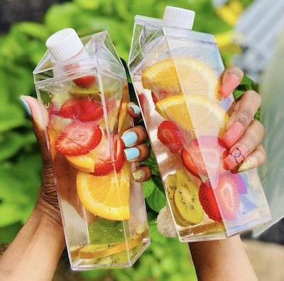 Star-Goods Milk Carton Water Bottle (17 ounces)