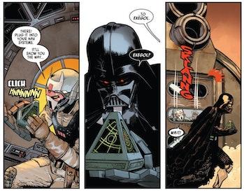 Star Wars Darth Vader comics exegol