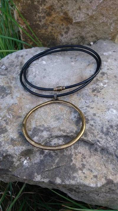 Circle Big Necklace
