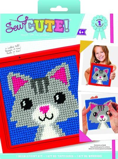 Colorbok Sew Cute Needlepoint Lola Cat Kit