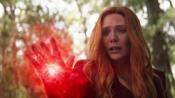 Wanda Killing Vision in Avengers: Infinity War
