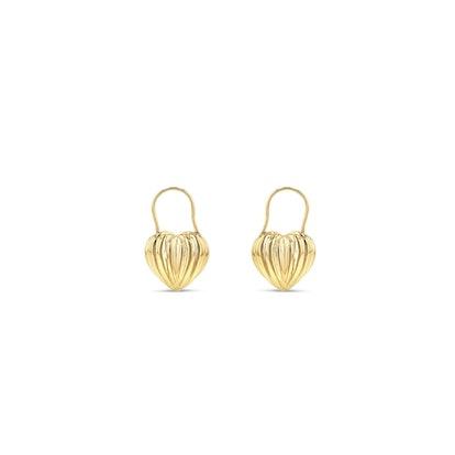 Double Sided Cora Hoop Earrings