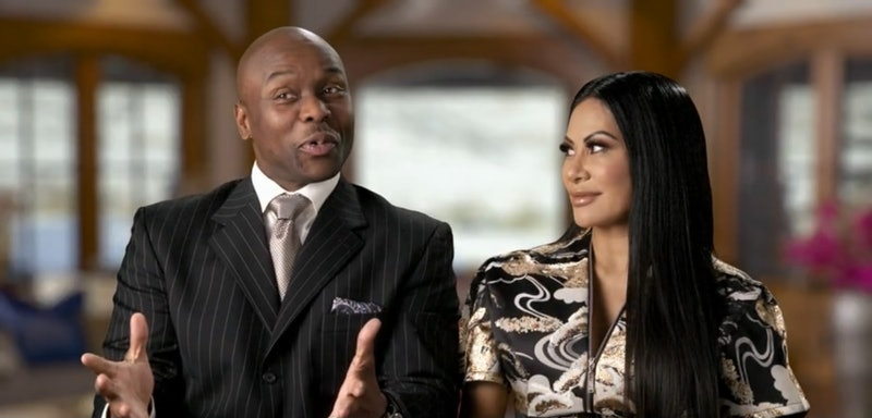Coach Sharrieff Shah and Jen Shah in 'The Real Housewives of Salt Lake City'