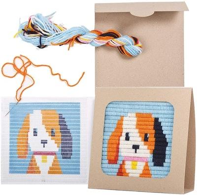 Sozo DIY Needlepoint Kit for Beginners