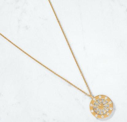 Heart & Arrows Diamond Medallion Chain