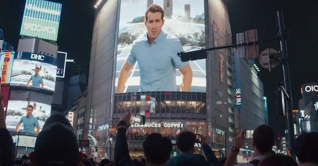 Ryan Reynolds stars in the new film, 'Free Guy.'