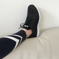 Leggings and Sneakers