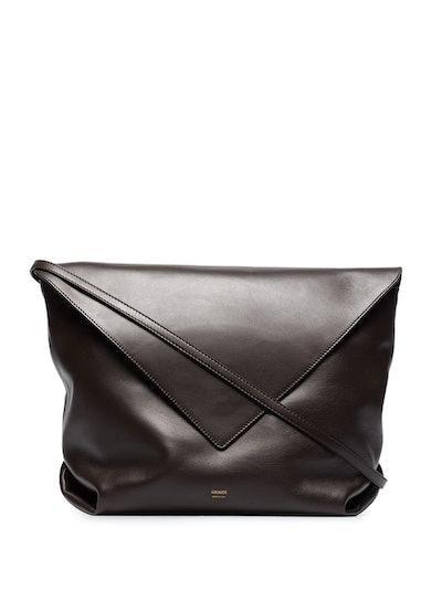 large leather crossbody bag