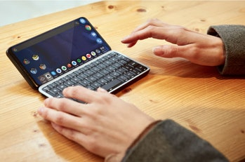 The Astro Slide is a 5G phone with a physical keyboard.