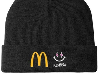 J Balvin McDonald's Replacement beanie