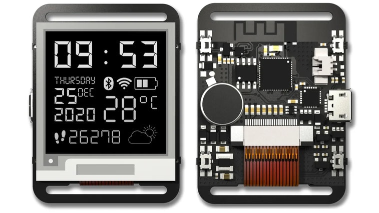 The Watchy is an open-source smartwatch.