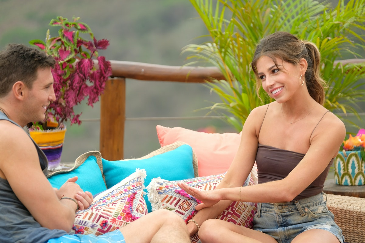 Blake and Kristina on 'Bachelor in Paradise' in 2019