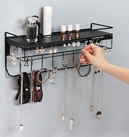 JackCubeDesign Wall Mounted Cosmetics Storage Shelf