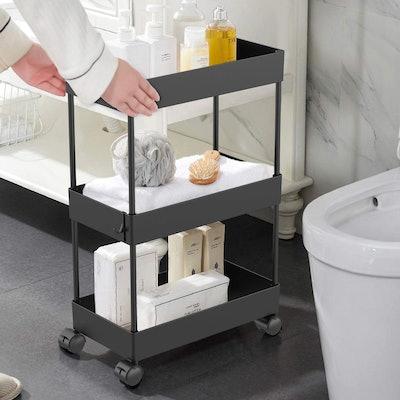 AOJIA 3-Tier Slim Storage Cart