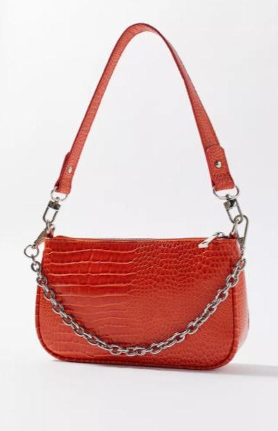 Rosie Chain Baguette Bag