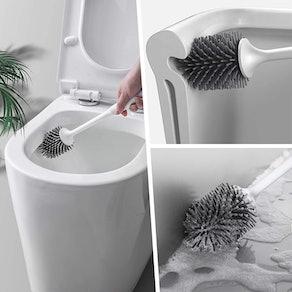 ENIBON Silicone Toilet Brush and Holder
