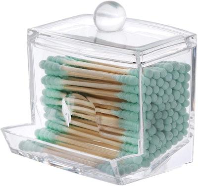 Tbestmax Cotton Swab Pads Holder (7 OZ)