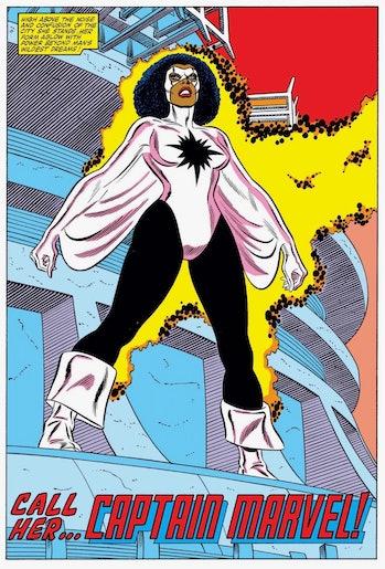 Monica Rambeau Captain Marvel