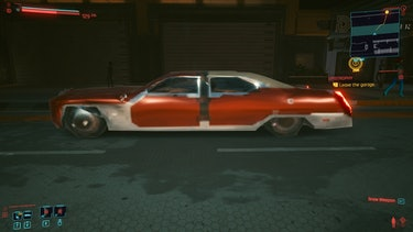 cyberpunk 2077 graphics car bug