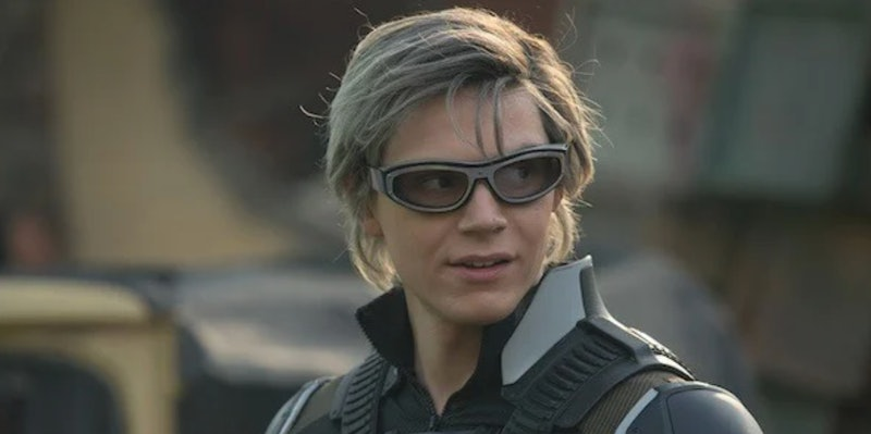 Evan Peters as Quicksilver, who's rumored to return in 'Wandavision'