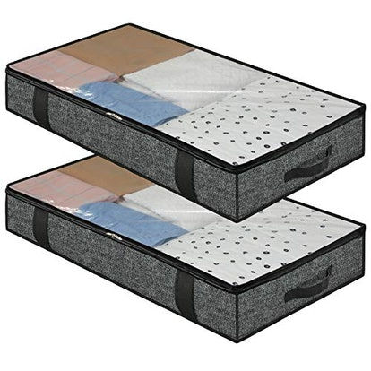 Onlyeasy Foldable Underbed Bags