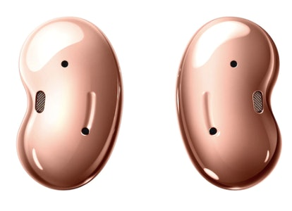 Galaxy Buds Live have a similar design to Galaxy Buds Pro.