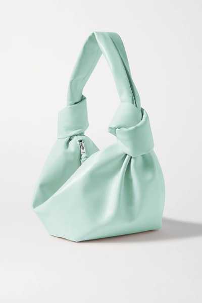 Mini Knotted Leather Tote