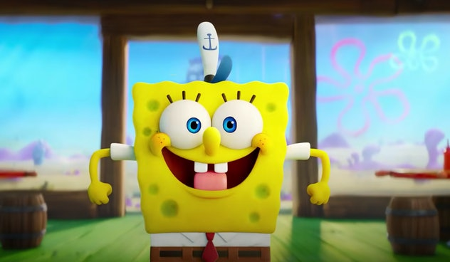 SpongeBob is back in a new movie, debuting on CBS All Access later this year.