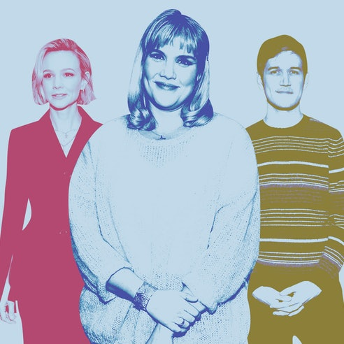 Carey Mulligan, Emerald Fennell, and Bo Burnham