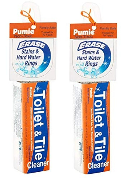 Pumie Toilet & Tile Pumice Cleaner (2-Pack)