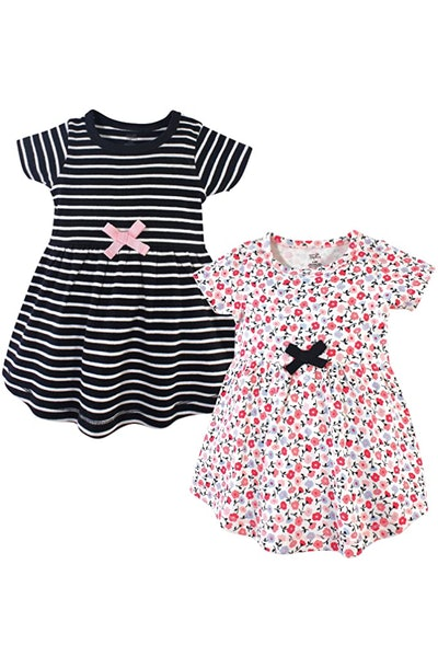 Touched by Nature Baby Organic Cotton Dresses (2-Pack)