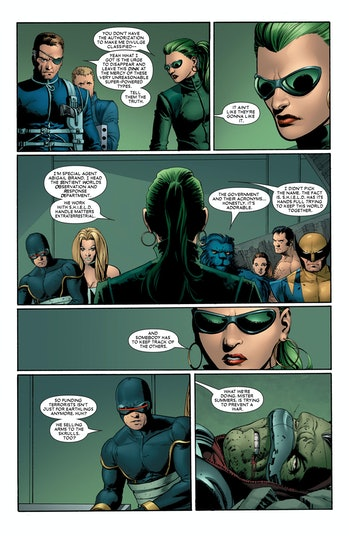 X-Men SWORD WandaVision