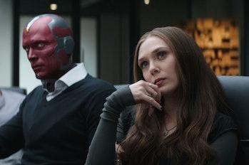 Vision and Wanda in Captain America: Civil War