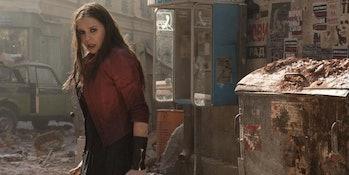 Wanda in Avengers: Age of Ultron