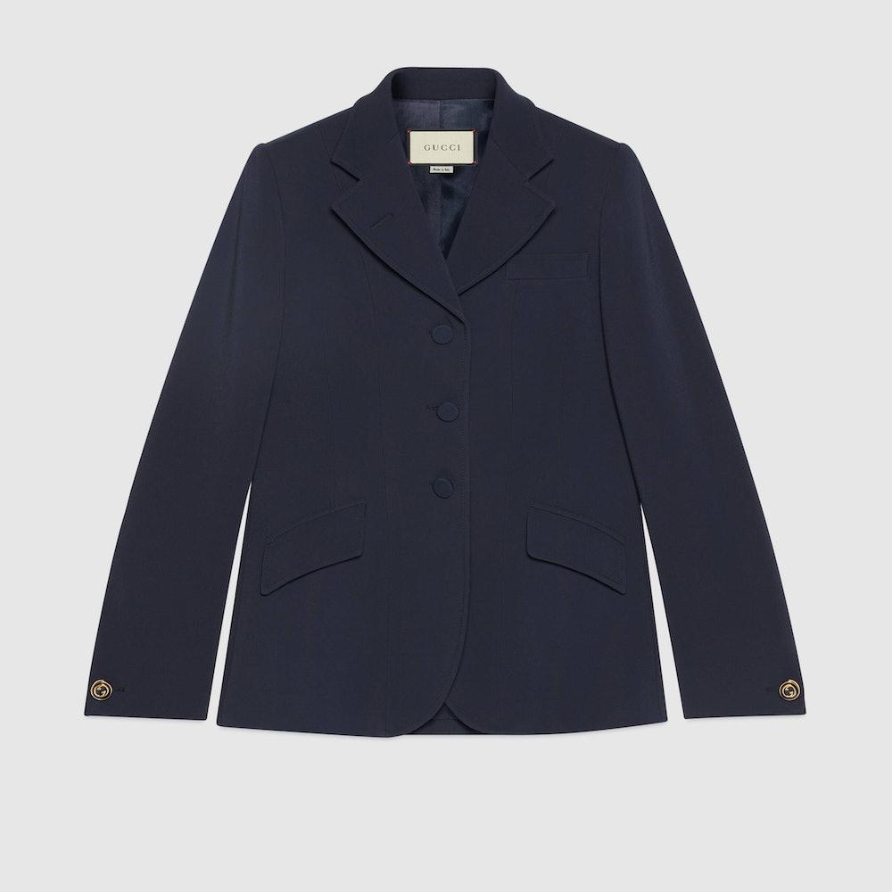 Cady Viscose Tailored Jacket