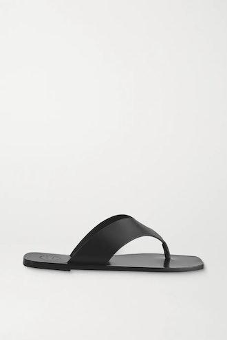 Merine Leather Flip Flops