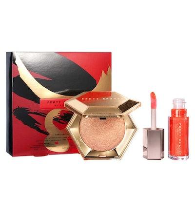 Fenty Beauty New Year Glow Lip & Luminizer Set: Lunar New Year Edition