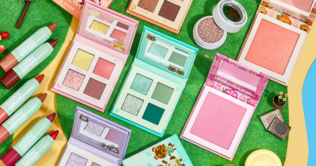 A Colourpop x Animal Crossing: New Horizons Collab Is Coming