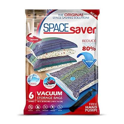 Spacesaver Store Premium Vacuum Storage Bags (6-Pack)