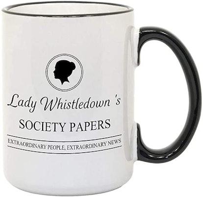 Lady Whistledown Mugs, Gift For Her, Gift For Him,