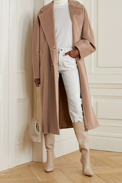 Icon Double-Breasted Wool And Cashmere-Blend Coat