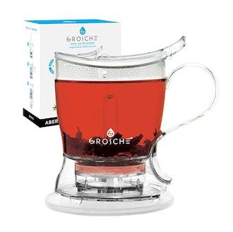 GROSCHE Aberdeen Tea pot with coaster