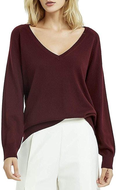 Kallspin Cashmere Blended Sweater