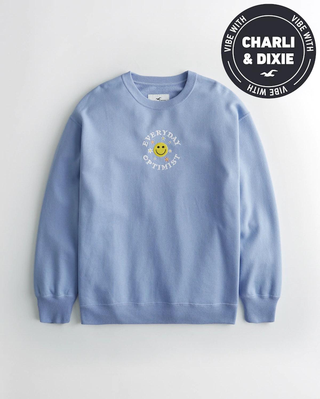 Dixie D'Amelio Oversized Sweatshirt