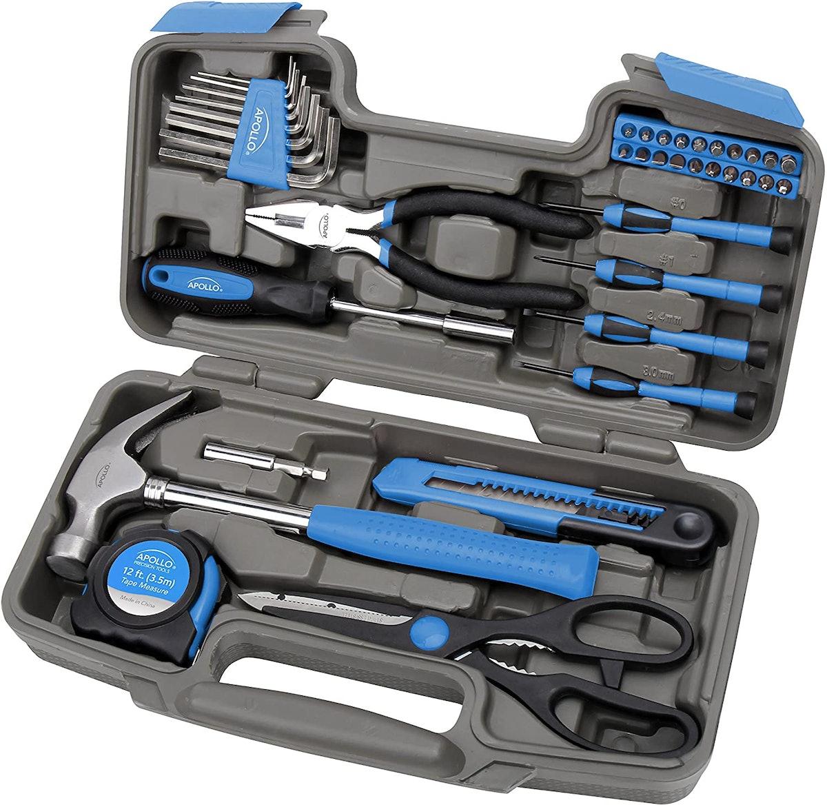 Apollo Tools Household Tool Set (39-Pieces)