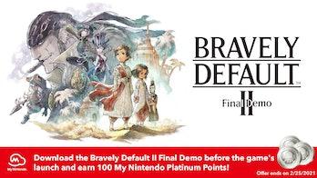 Bravely Default 2 demo