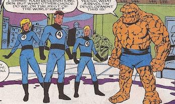 Ben Grimm Catchphrase Marvel Comics