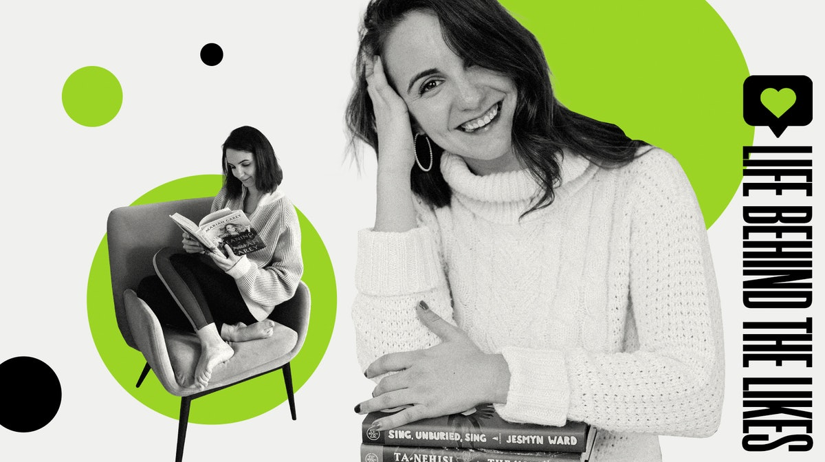 Morgan Hoit's @nycbookgirl account is filled with all the book recs you need.