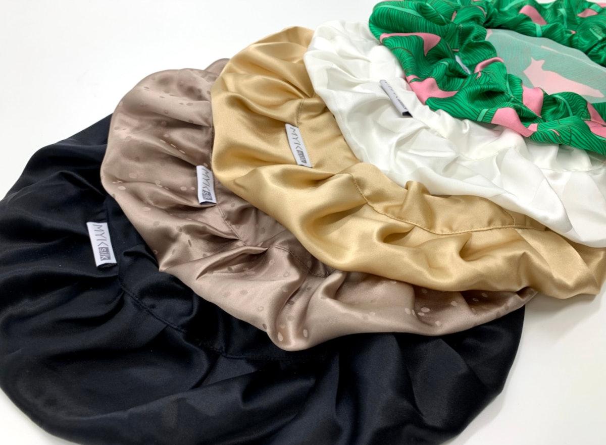 Silk Night Sleeping Cap Bonnet